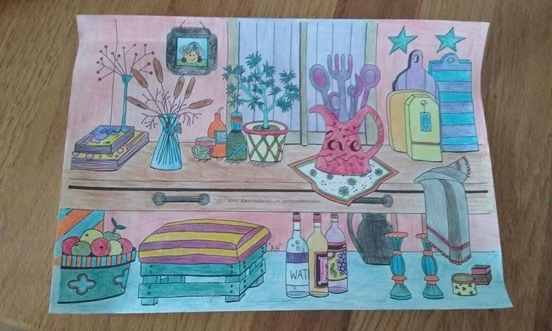 Kleurplaten Voor Volwassenen Op Reis.Kleur Je Dromen Kleurboek Voor Volwassenen Kleur En Miks